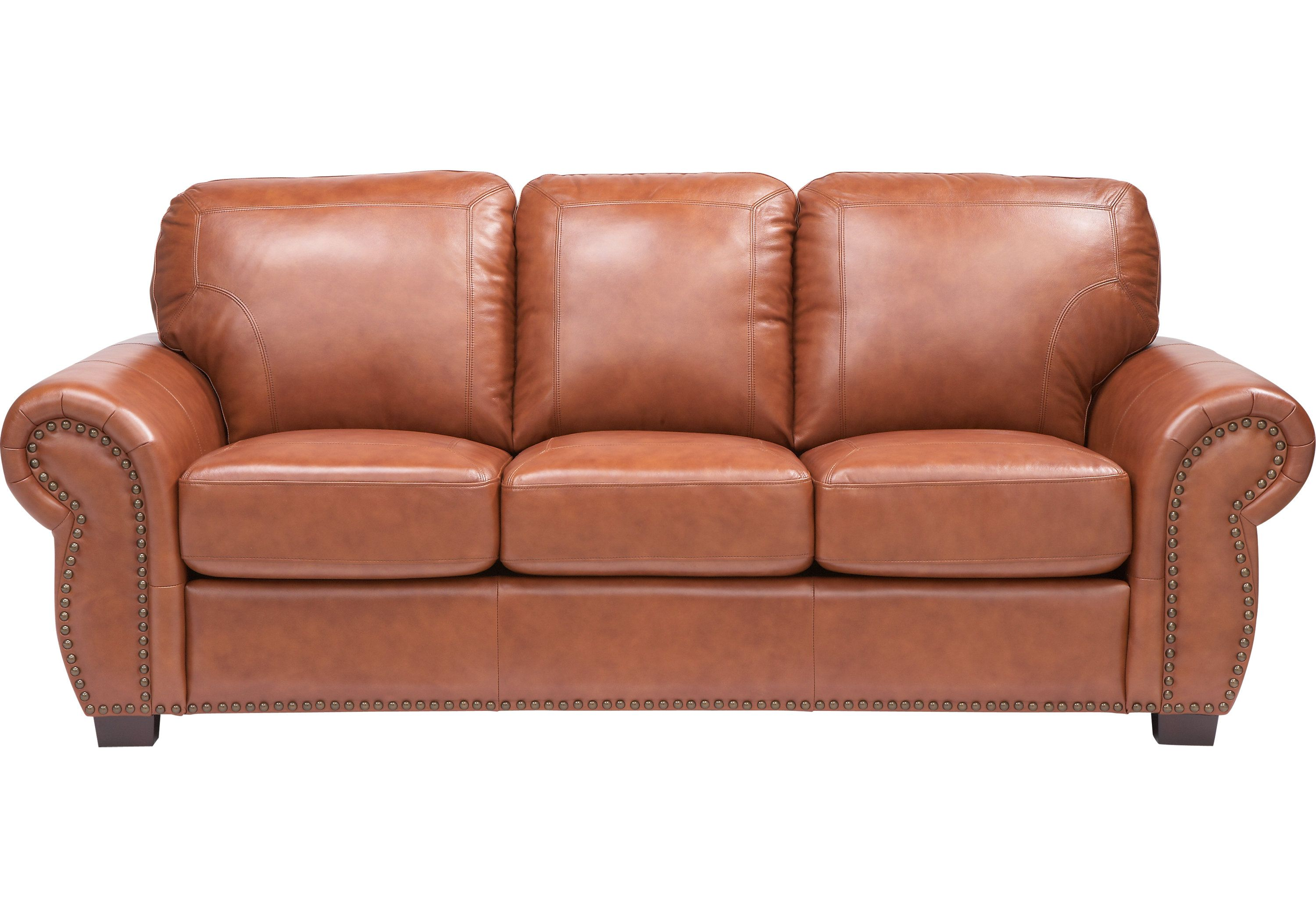 Leather Living Room Chairs Balencia Light Brown Leather Sofa Leather Sofas Furniture