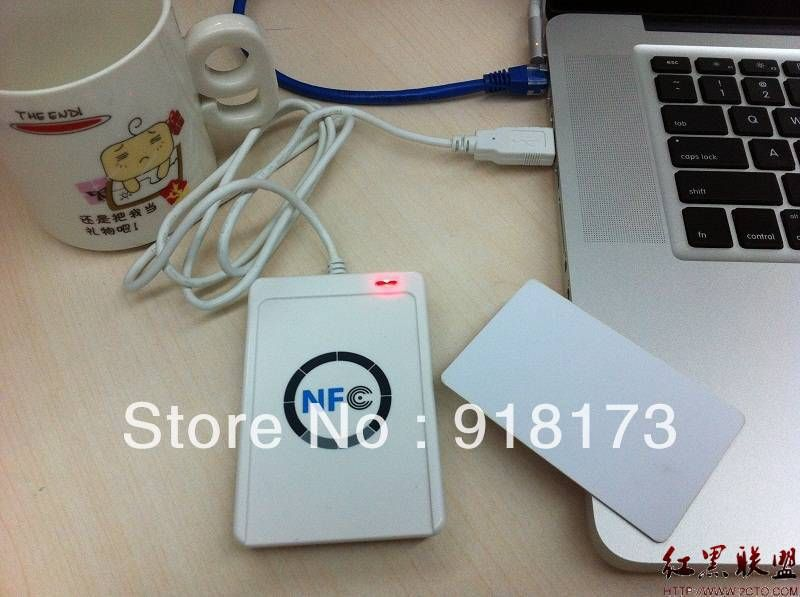 USB ACR 122U NFC support all 4 types (ISO/IEC 18092) Tags