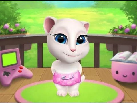 d894e17f61829 My Talking Angela - Android Gameplay HD - YouTube