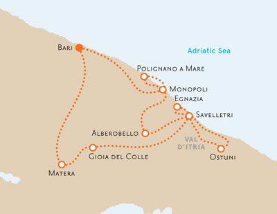 Puglia Italy Biking Map Italy Maybe Pinterest Puglia Italy