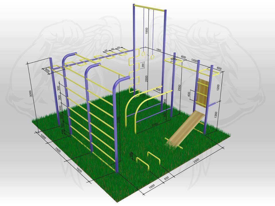 outdoor gym harder better faster stronger. Black Bedroom Furniture Sets. Home Design Ideas