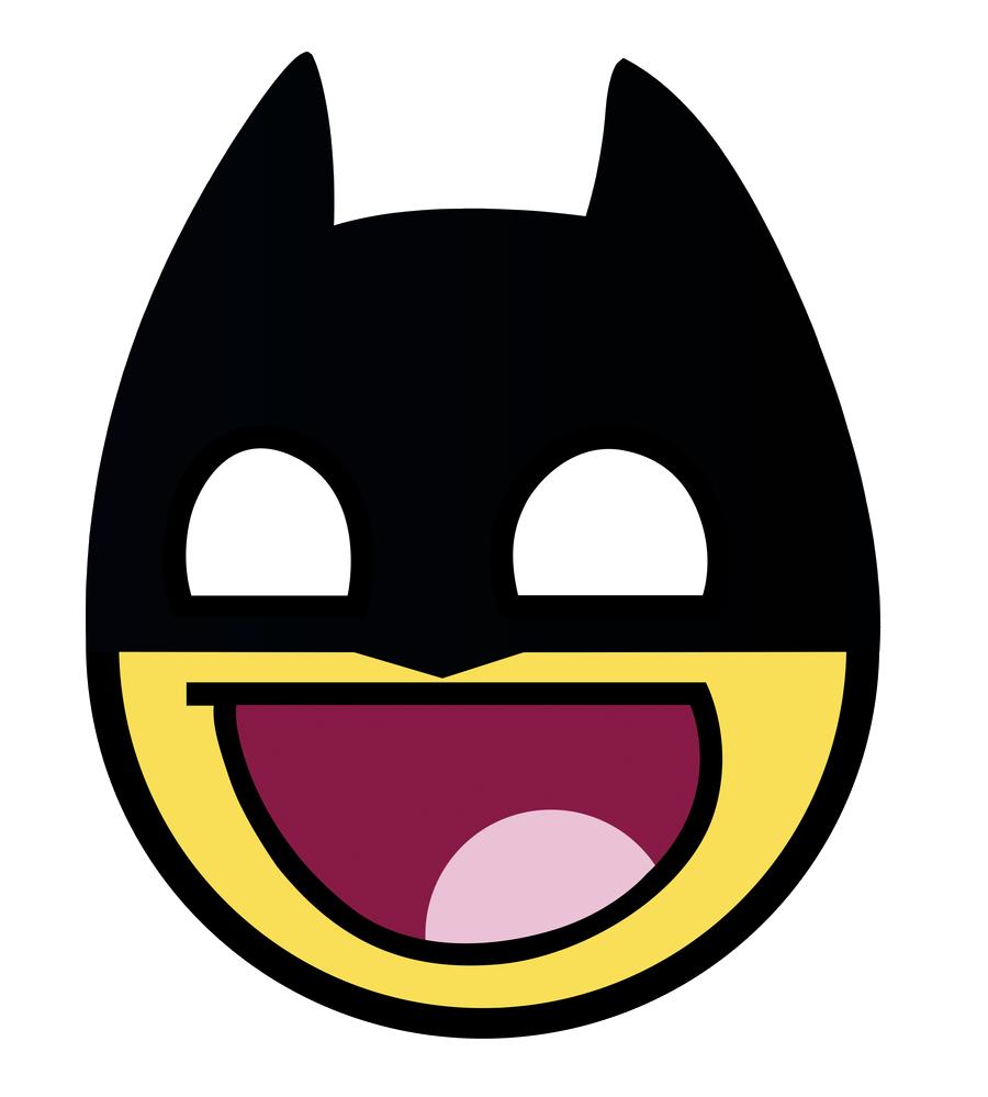Awesome Face Batman Png Batman Emoji Bilder