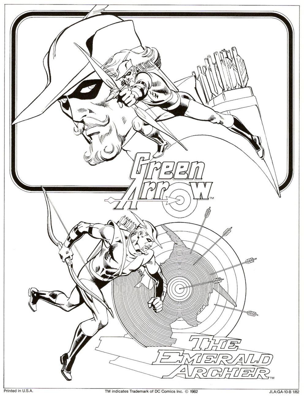 Green Arrow: The Emerald Archer | Garcia lopez, Drawing ...