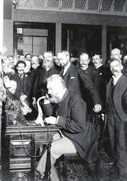 Image result for 1915 – Alexander Graham Bell inaugurates U.S. transcontinental telephone service,