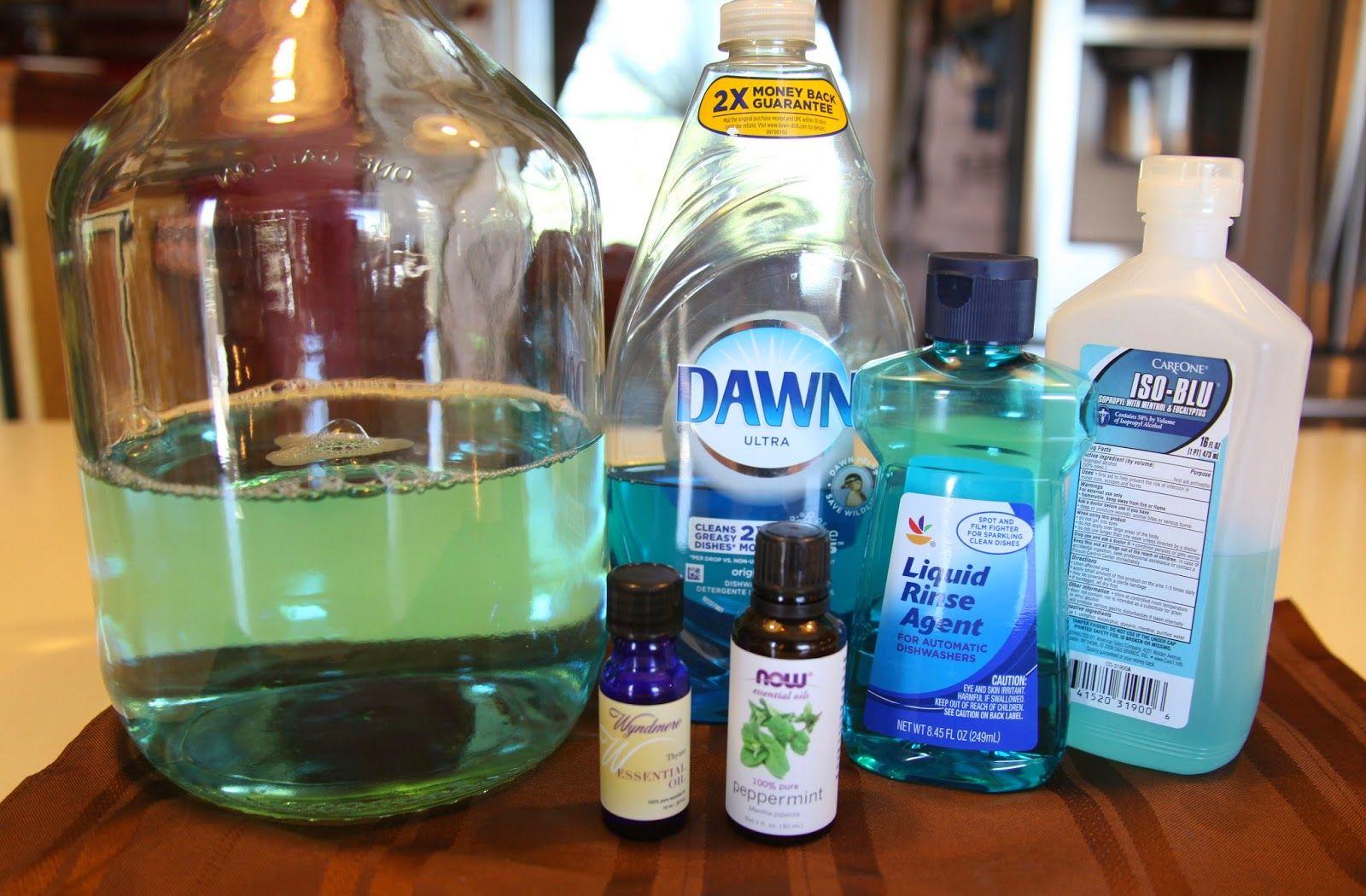 Elizabeth Obsesses...: Homemade Antibacterial Lavender Surface ...