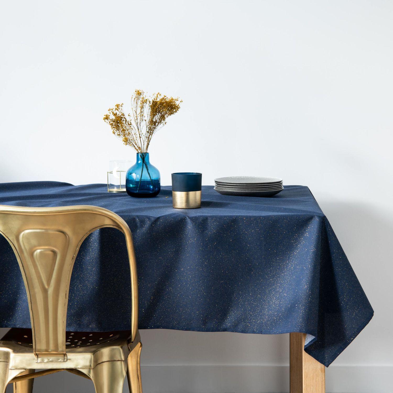 Decorations De Noel Nappe Bleue Nappe Maison Du Monde Et Bleu Nuit