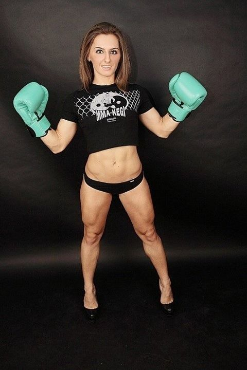 Alexandra Albu | Kick boxing girl, Strong girls, Women