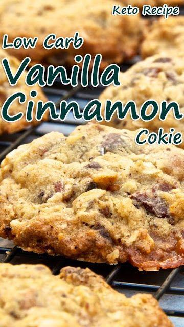 Low Carb Vanilla Cinnamon Cookies