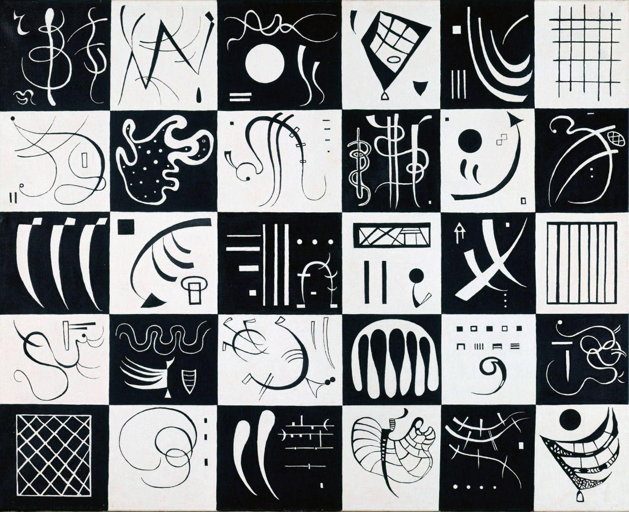 Thirty by Wassily Kandinsky Size: 100x81 cm Medium: oil on canvas
