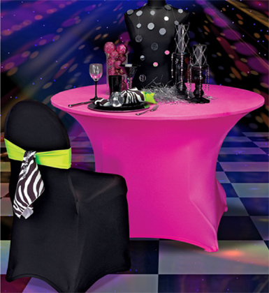Wholesale Neon Spandex Chair Covers   ... Napkin. Black Spandex Chair Cover  With