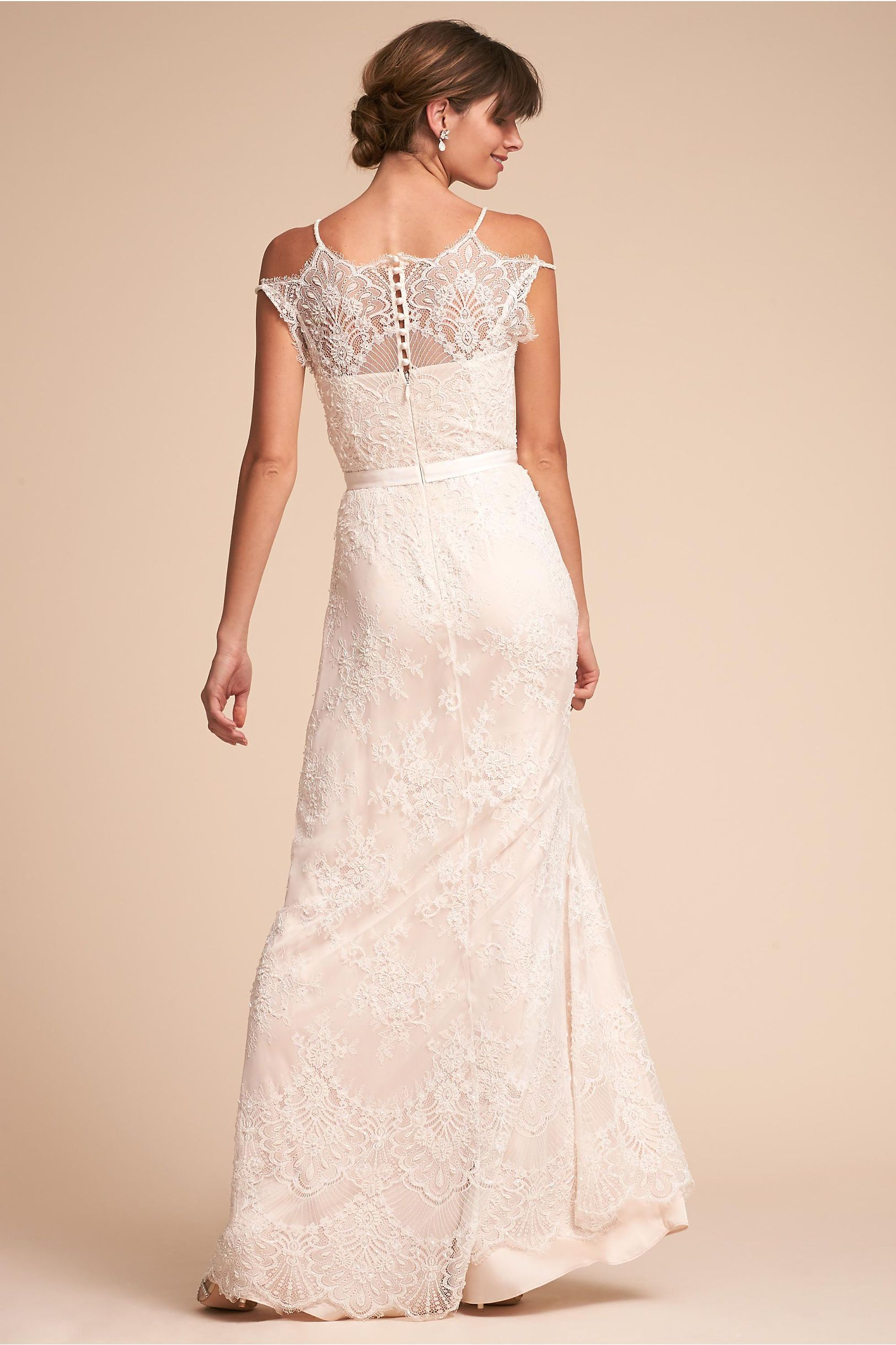 38f6a7423e5 BHLDN's Catherine Deane Karla Gown in Ivory | dress | Wedding gowns ...