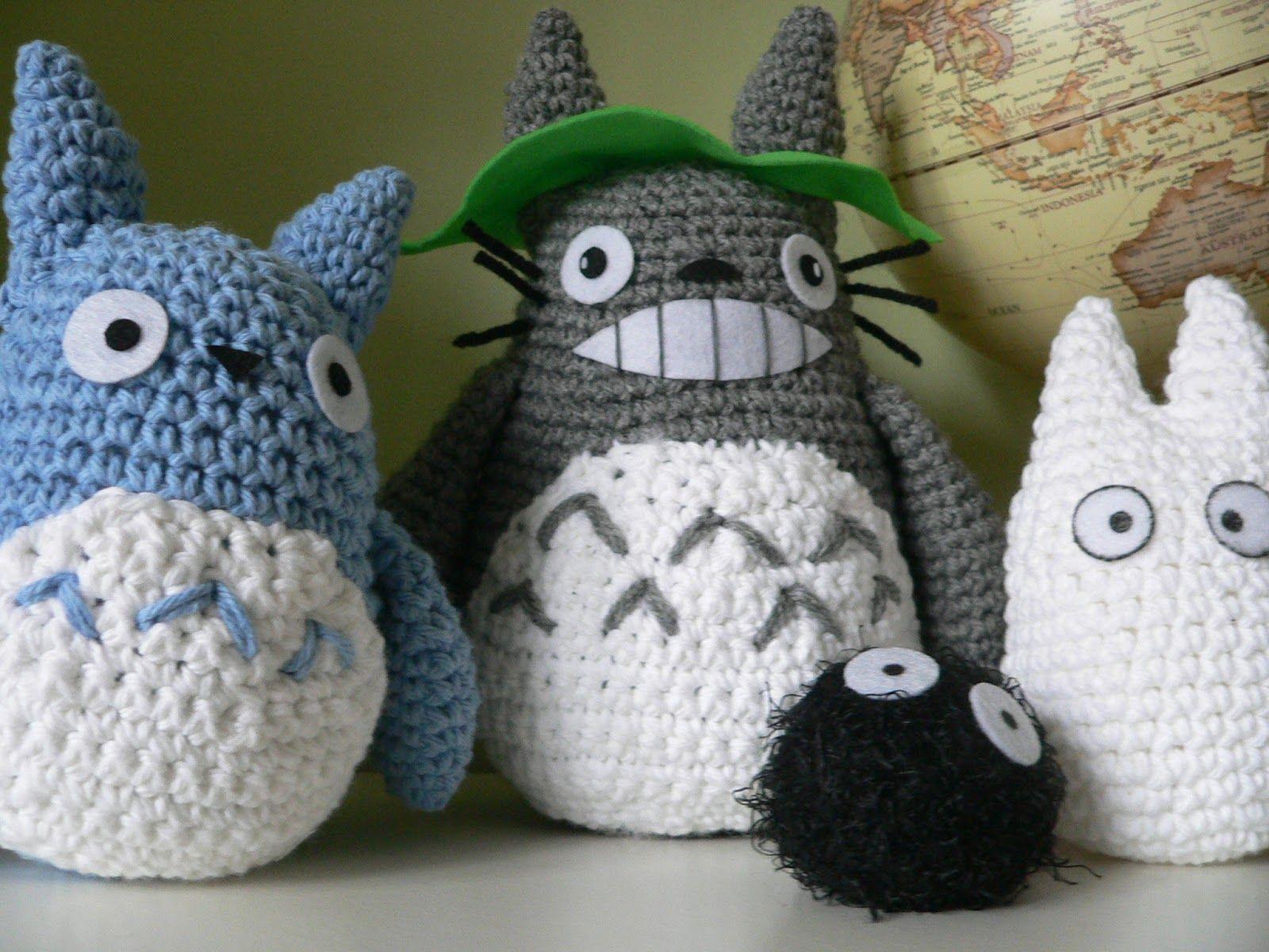 Mi Vecino Totoro Familia | Mini crochet. | Pinterest