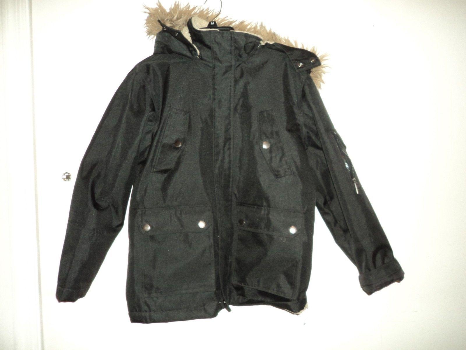 English Laundry Mens Large 14 16 Black Jacket Revival Clothing