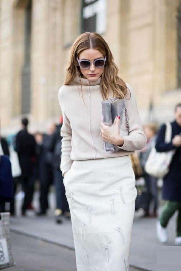 Habille classe femme; comment s abiller style , la femme classe Olivia  Palermo