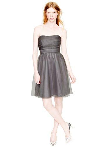 short grey bridesmaid option