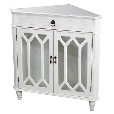 Carly 1 Drawer Accent Cabinet Sofa End Tables Decor