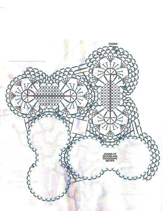Motiv häkeln - crochet motif | Häkelmuster Special crochet pattern ...