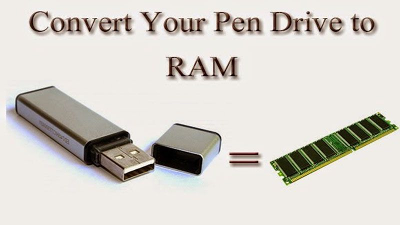 How To Use Your Pen Drive Like Ram For Your Computer Pen Drive Usb Flash Drive Usb