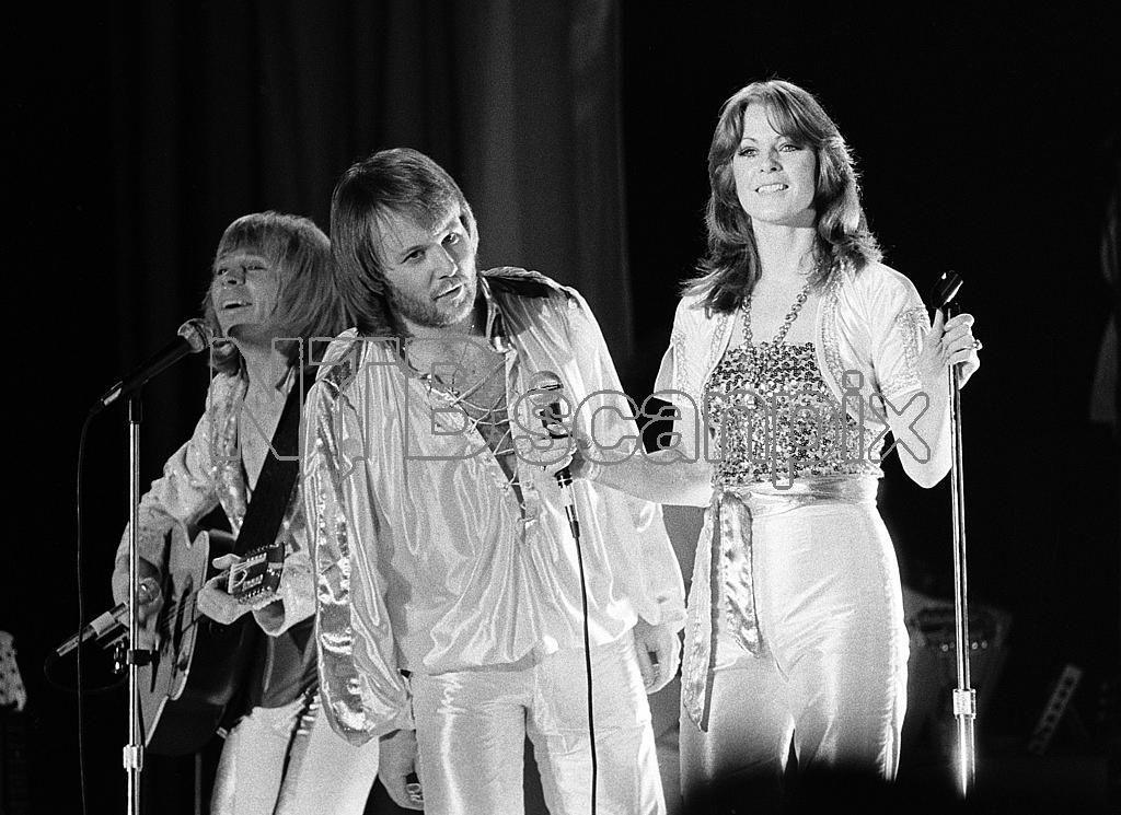 ABBA Björn Ulvaeus Benny Andersson Anni-Frid Lyngstad