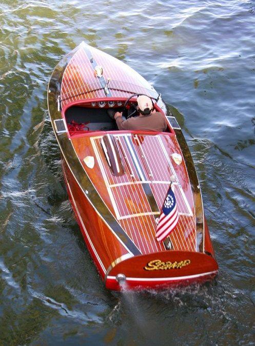 1940 16' Chris Craft Custom Wooden Sport Racing Boat ...