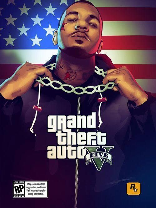 Grand Theft Auto fan art | Grand Theft Auto V Fan Art