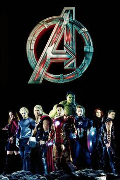 Avengers Age Of Ultron Style 2 Vingadores Marvel