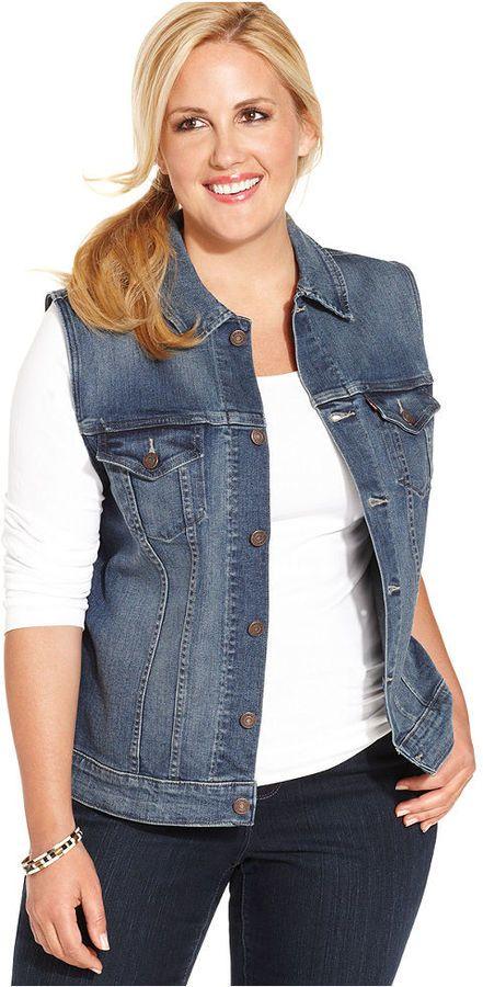 f0328d925c0 Levi s® Plus Size Denim Vest