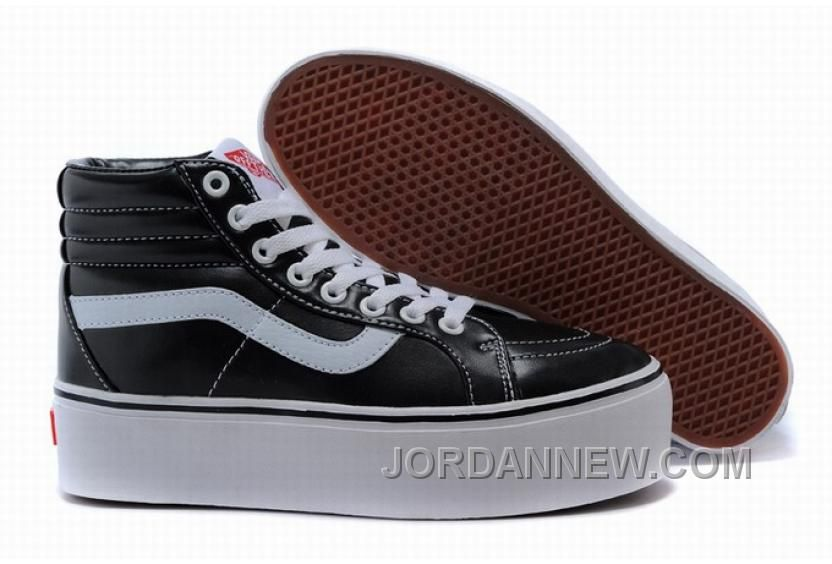 5e6f50358453e3 Buy Vans Classic Platform Black White Leather Womens Shoes Online from  Reliable Vans Classic Platform Black White Leather Womens Shoes Online  suppliers.