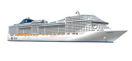 MSC Divina Deck Plan Vacay Pinterest