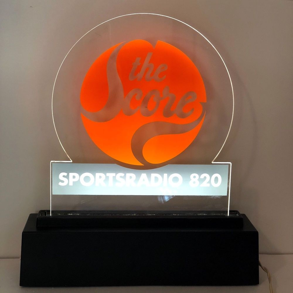 Vintage The Score Sports Radio Station 820 AM Chicago