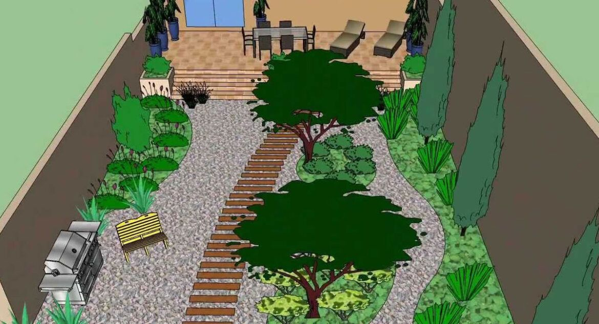 All You Need To Know About Design Your Garden Using Sketchup In 2021 Free Landscape Design Online Landscape Design Garden Design Software