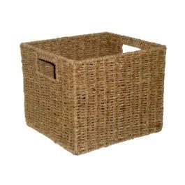 something like these for the hallway shelves target wicker storage baskets baskets. Black Bedroom Furniture Sets. Home Design Ideas