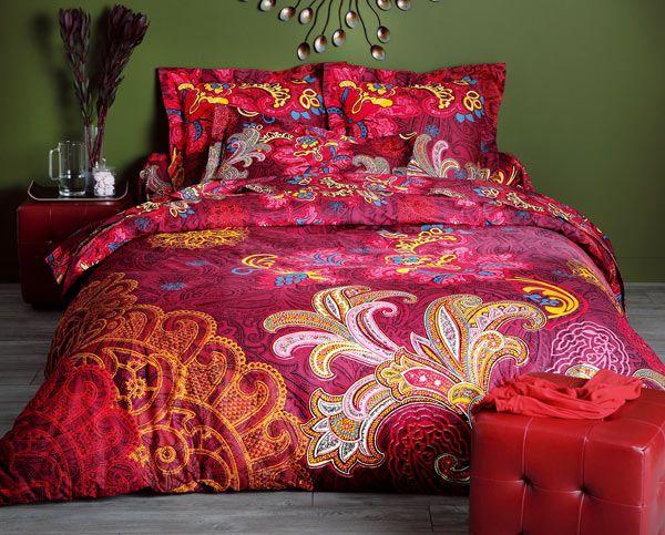 linge de lit textura leChouchou.  décoration   Linge de lit fleurs perses  linge de lit textura