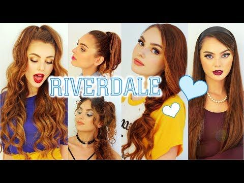 The Cw Riverdale Hairstyles Cheryl Blossom Betty Cooper Veronica Lodge Josie Youtube Hair Styles Cheryl Blossom Riverdale Riverdale