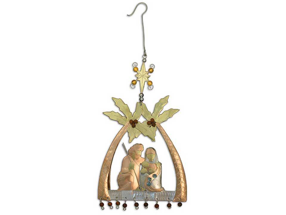 Celebrations Palms Nativity Ornament  http://www.thebowlcompany.com/products/Celebrations-Palms-Nativity-Ornament/165093