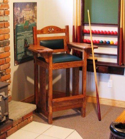 Billiard Spectator Chair