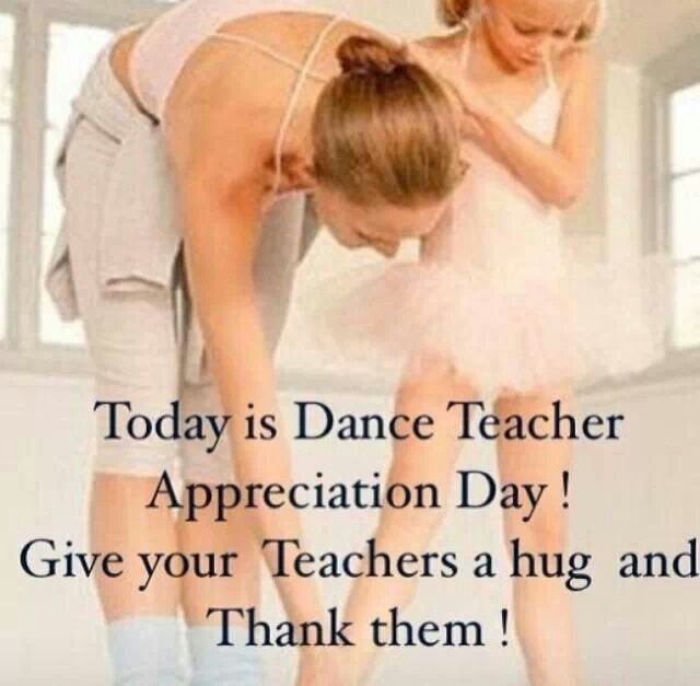 I wouldn't be me if it weren't for the dance teachers I've met along the way. <3