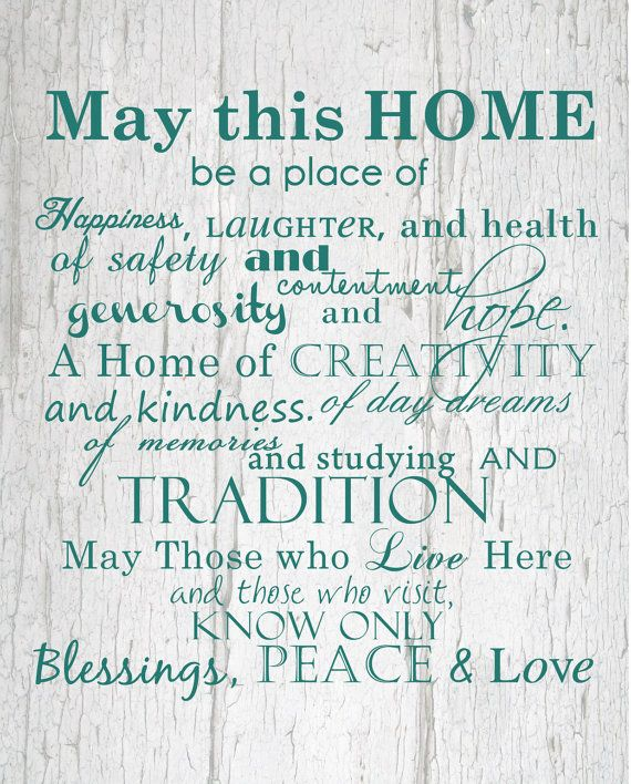 Home And Family Print 8x10 By Helloloveboutique On Etsy 15 00 May