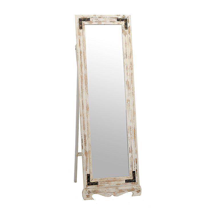 Rustic Cheval Full Length Floor Mirror Floor Standing Mirror