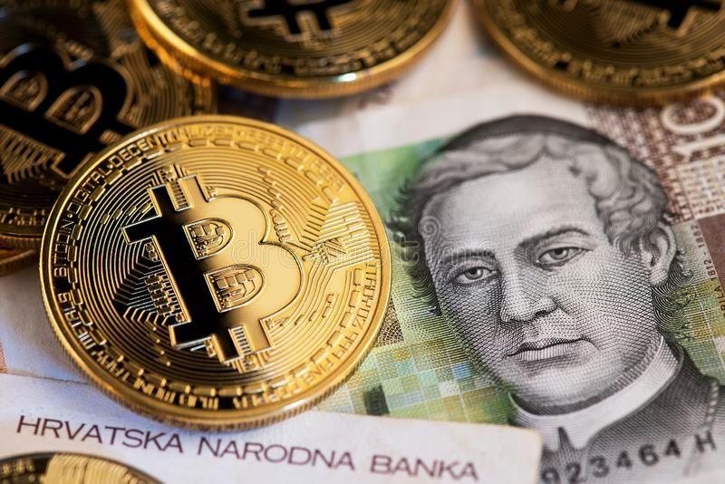 Bitcoin Į Kroatijos kuna kursas istorija