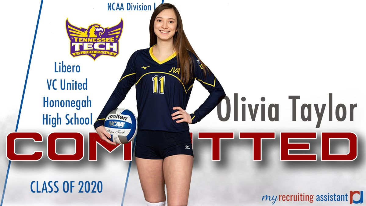 Class Of 2020 Ncaa Division I Tennessee Tech Volleyball Commit Recruitment Class Of 2020 The Unit