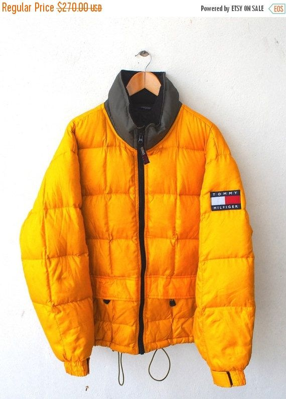 Tommy Hilfiger Outdoors Expedition Vintage 90 S Hip Hop Yellow