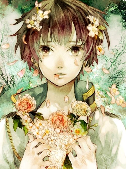 Beautiful Anime Flowers Manga Anime Boy Beautiful Scenery Photography Cute Anime Boy Anime Hetalia