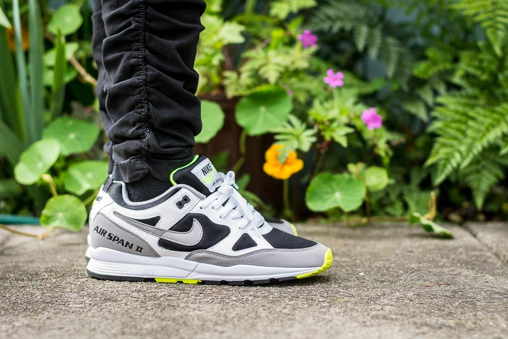 Nike Air Span II Volt On Feet Sneaker Review | Sneakers | Nike air ...