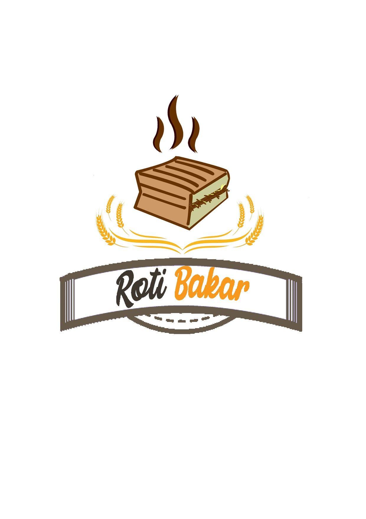 Logo Roti Bakar Buku Mewarnai Buku Ilustrasi Lucu