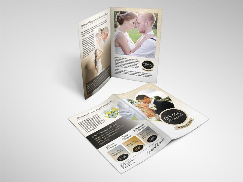 Wedding Photography Services Brochure  Photography Services