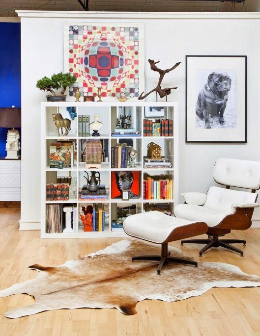 Scarf Art White Expedit Bookshelf Mirror Back Eames Lounge Pug Design Manifest