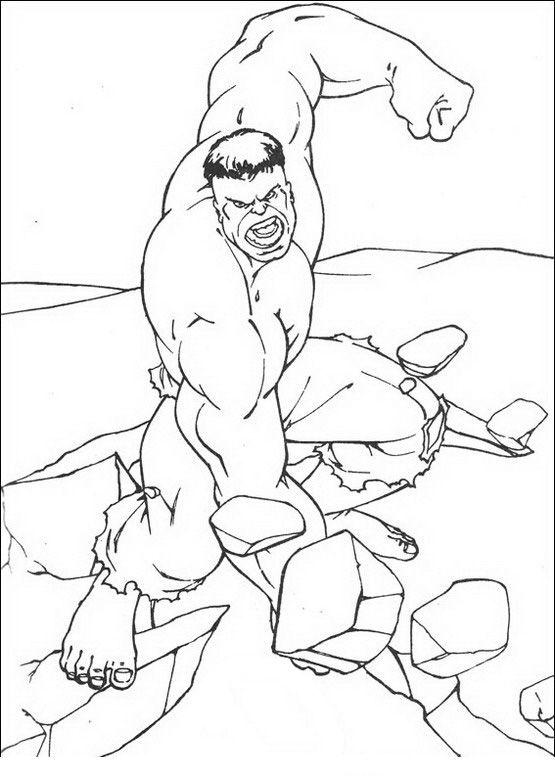 Coloriage dessins hulk 8 samu coloriage coloriage hulk y colorier - Coloriage hulk gratuit ...
