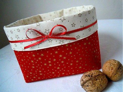.MoMo. / Červený vianočný košíček
