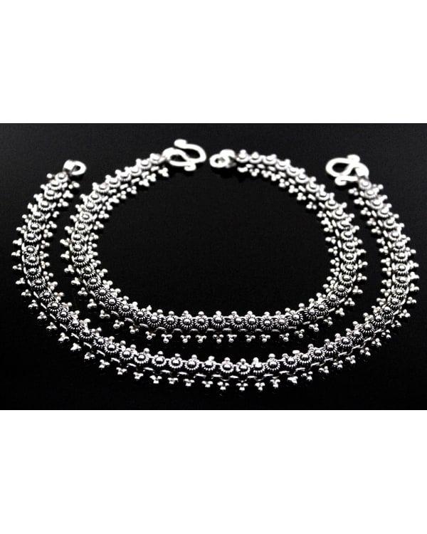 2dd1ad2b8 silver anklets